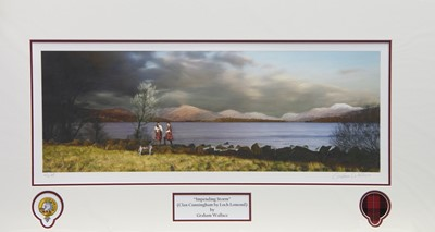 Lot 41 - IMPENDING STORM, A PRINT BY GRAEME WALLACE