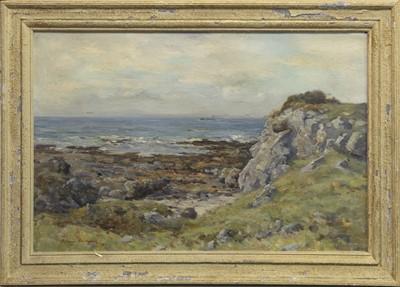Lot 69 - NEAR TURNBERRY, AN OIL BY JOSEPH HENDERSON