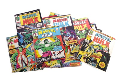 Lot 1661 - A COLLECTION OF MARVEL THE INCREDIBLE HULK COMIC BOOKS