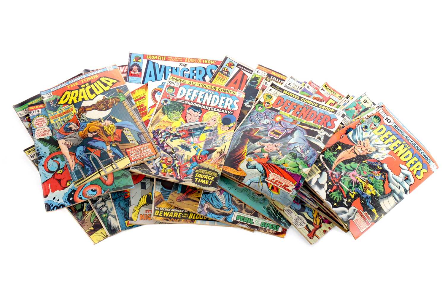 Lot 1663 - A COLLECTION OF MARVEL COMICS