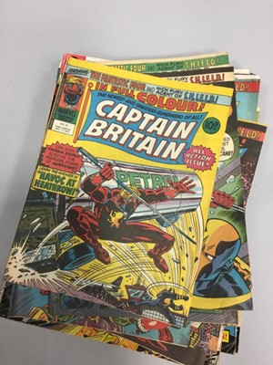 Lot 1664 - A COLLECTION OF MARVEL AND OTHER COMICS