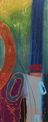 Lot 72 - TOTEM II, A SCREENPRINT BY RUSSELL BAKER