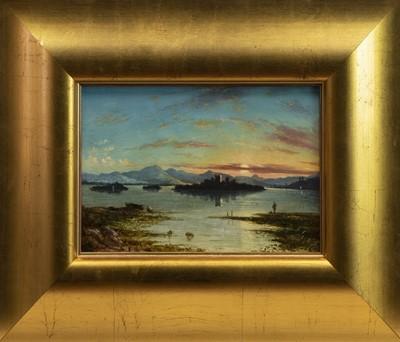 Lot 48 - LOCH LEVEN FROM BALGEDIE, AN OIL BY GEORGE AYTOUN