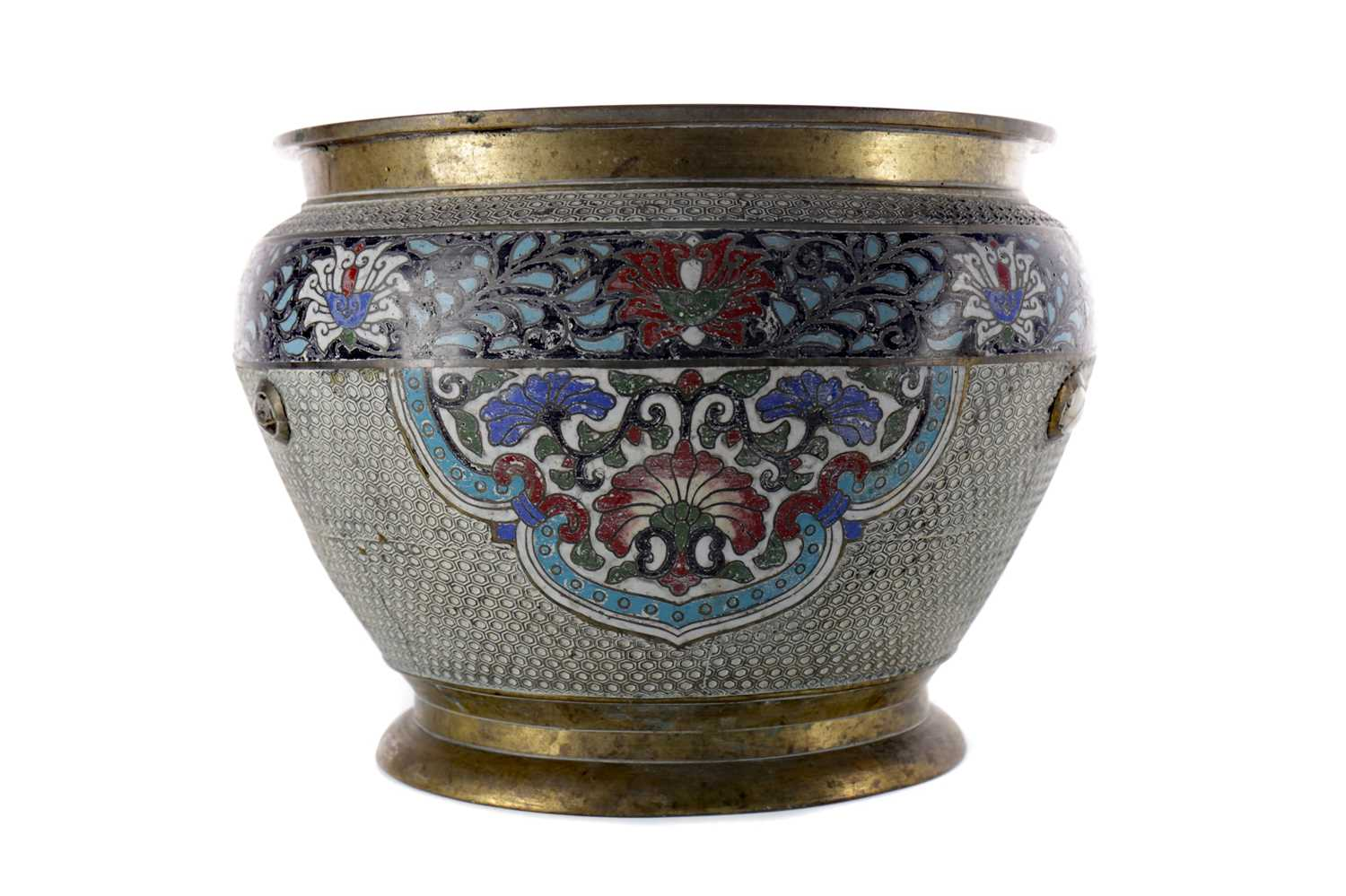 Lot 808 - AN EARLY 20TH CENTURY CHINESE BRASS PLANTER