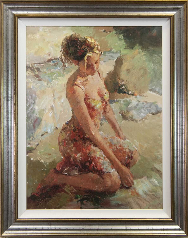 Lot 89 - ARTIST'S PROOF, AN OIL BY HUA CHEN