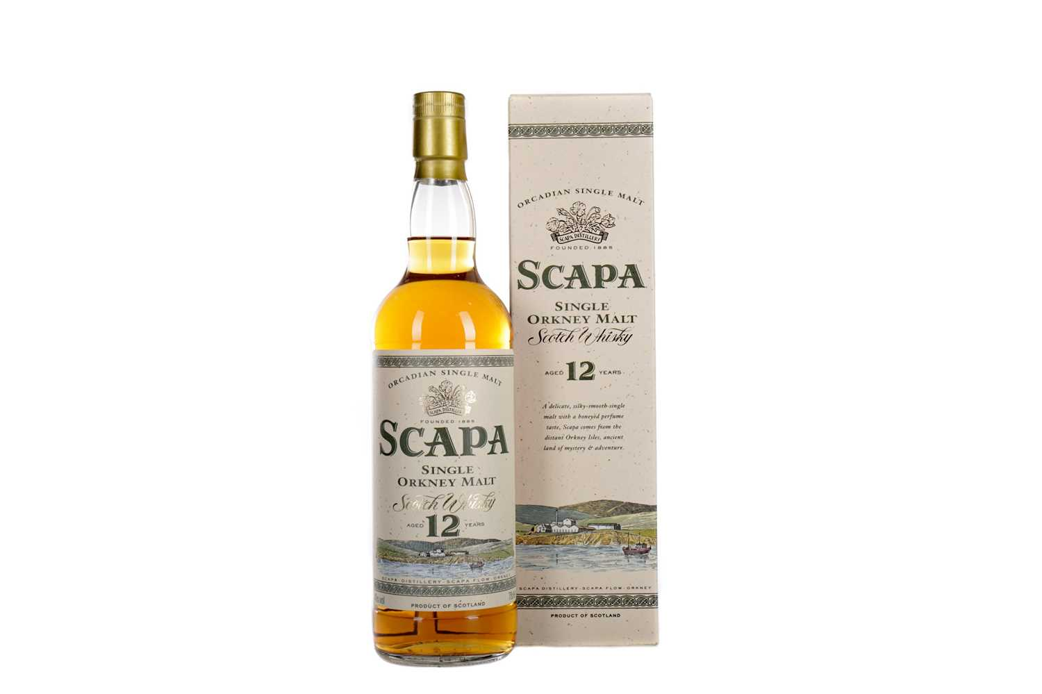 Lot 24 - SCAPA AGED 12 YEARS
