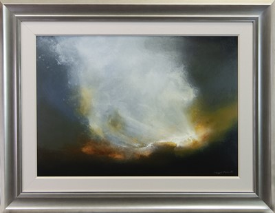 Lot 97 - VISIONARY, AN OIL BY SHERYL ROBERTS