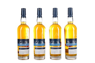 Lot 28 - FOUR BOTTLES OF SCAPA SKIREN