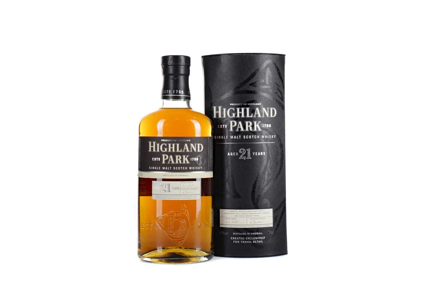 Lot 25 - HIGHLAND PARK AGED 21 YEARS