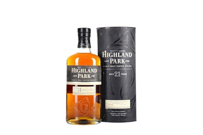 Lot 50 - HIGHLAND PARK AGED 21 YEARS
