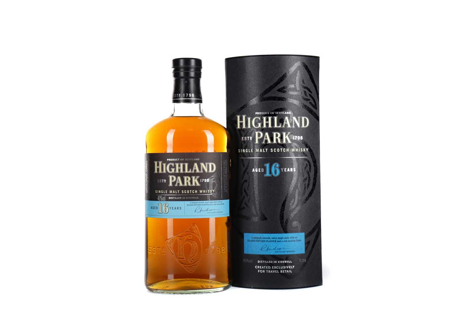 Lot 39 - ONE LITRE OF HIGHLAND PARK AGED 16 YEARS