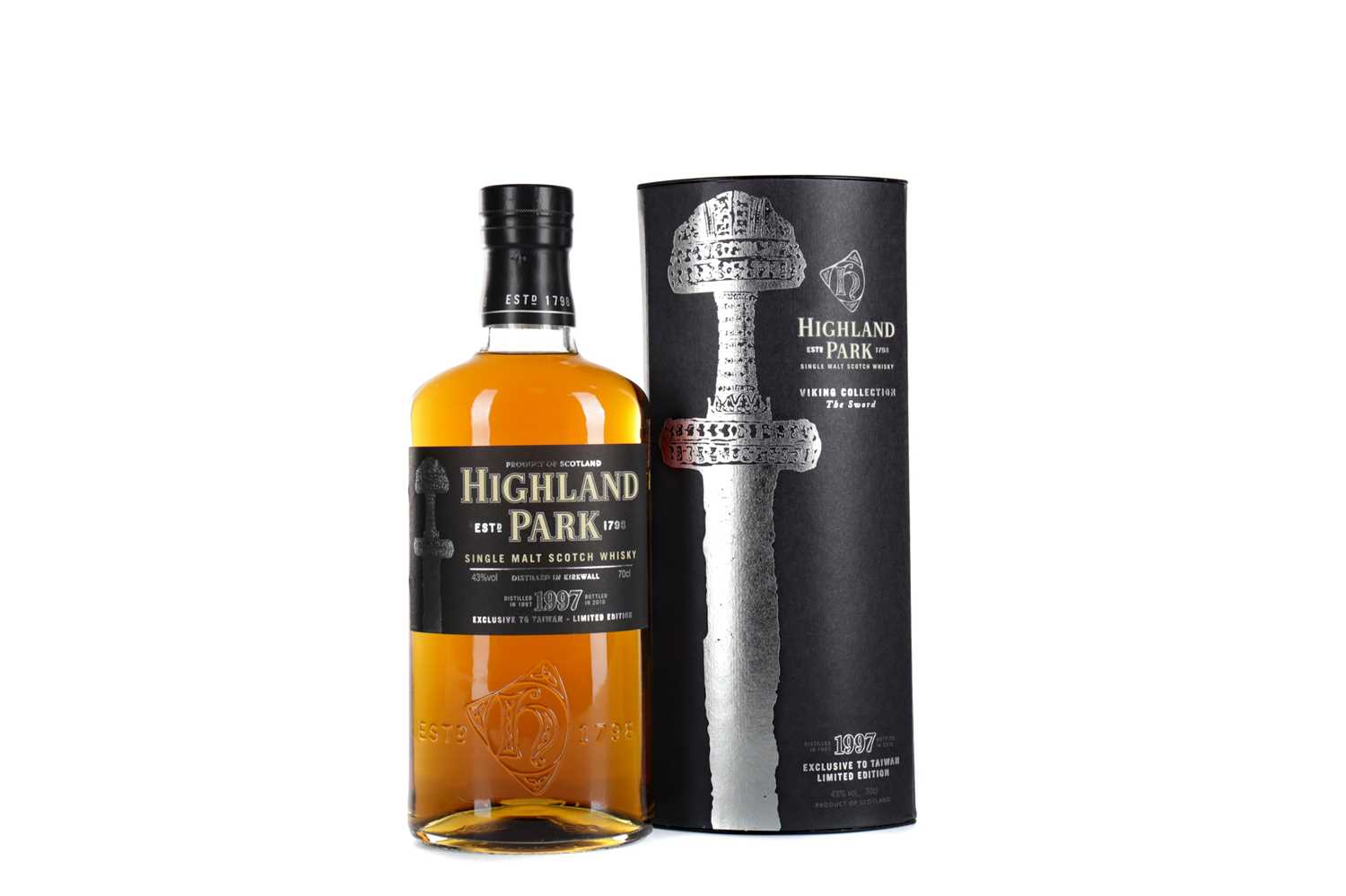 Lot 57 - HIGHLAND PARK 1997 VIKING SELECTION THE SWORD