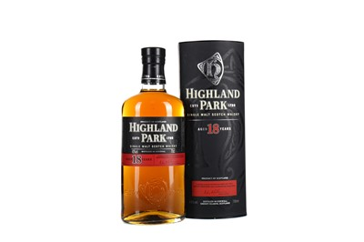 Lot 33 - HIGHLAND PARK AGED 18 YEARS
