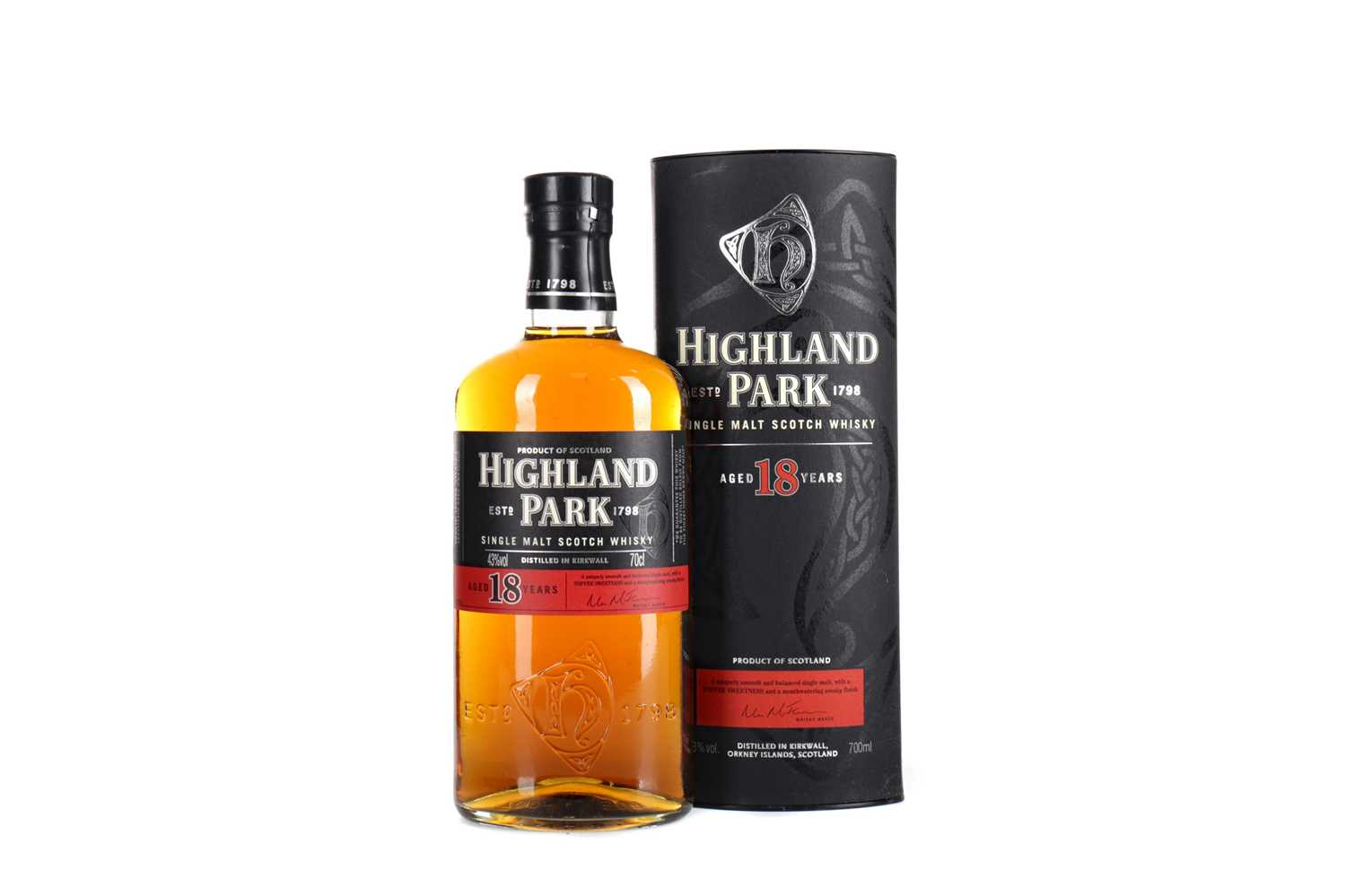 Lot 44 - HIGHLAND PARK AGED 18 YEARS