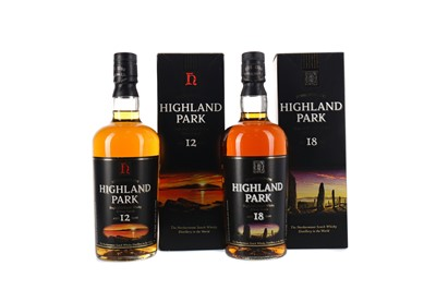 Lot 72 - HIGHLAND PARK AGED 18 YEARS AND AGED 12 YEARS