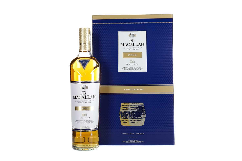Lot 43 - MACALLAN GOLD DOUBLE CASK GLASS SET