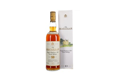 Lot 49 - MACALLAN 10 YEARS OLD