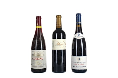 Lot 58 - CHATEAU BEL AIR 2006, DOMAINE DE ROCHERTIUS 2005, AND PAUL JABOULET AINE 2009