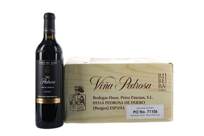 Lot 62 - SIX BOTTLES OF VINA PEDROSA 2005 GRAN RESERVA
