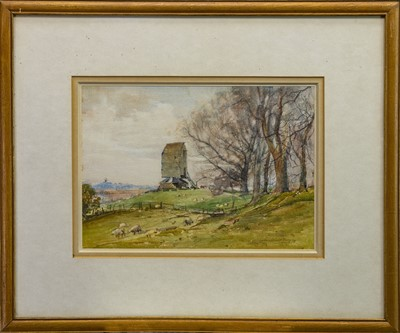 Lot 410 - OLD MILL, SUSSEX, A WATERCOLOUR BY ARCHIBALD KAY