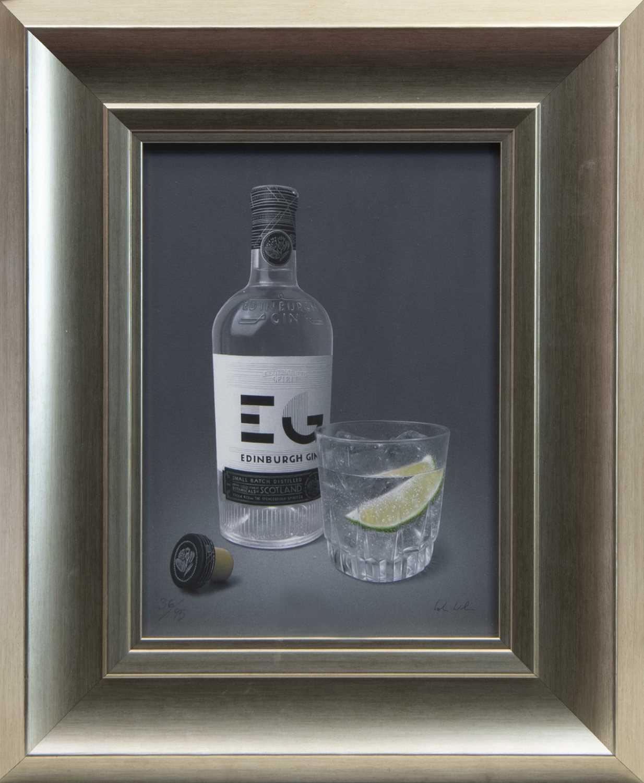 Lot 118 - EDINBURGH SPIRIT, A GICLEE PRINT BY COLIN WILSON