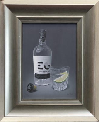 Lot 46 - EDINBURGH SPIRIT, A GICLEE PRINT BY COLIN WILSON