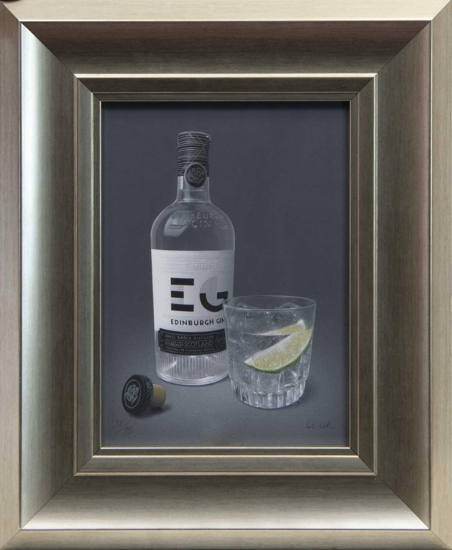 Lot 64 - EDINBURGH SPIRIT, A GICLEE PRINT BY COLIN WILSON