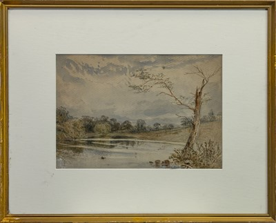 Lot 405 - THREE RIVERSCAPE WATERCOLOURS BY G APPOCH