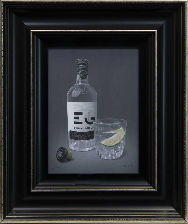 Lot 42 - EDINBURGH SPIRIT, A GICLEE PRINT BY COLIN WILSON