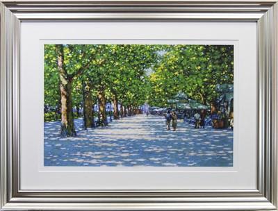 Lot 131 - SUMMER WALK, MONTPELIER,  AN ARTIST PROOF PRINT BY JOHN MACKIE