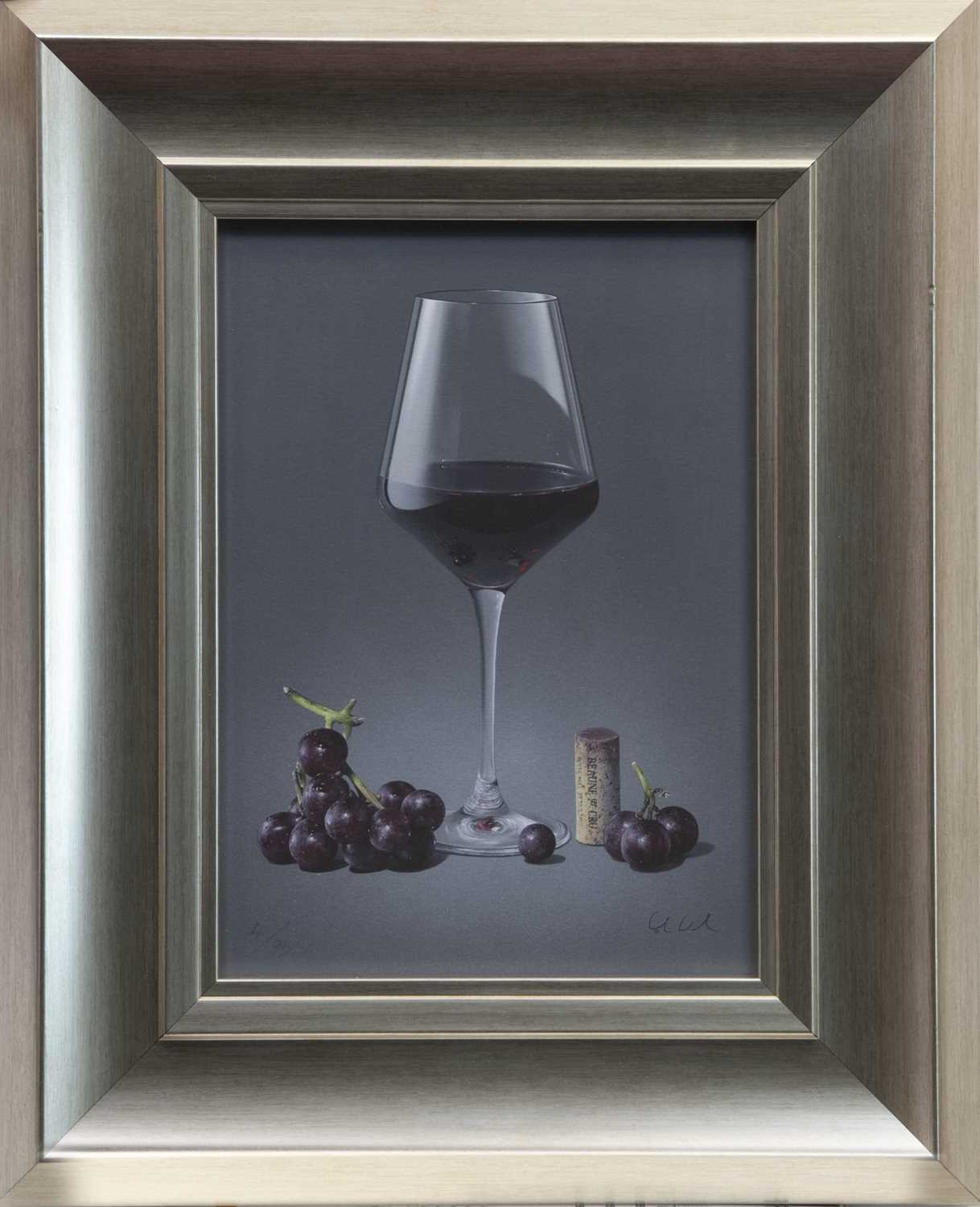 Lot 134 - REFLECTIONS ON RED, A GICLEE PRINT BY COLIN WILSON