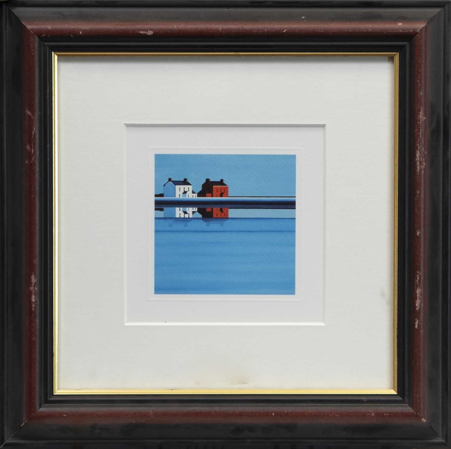 Lot 135 - NEARING ISOLATION, A FRAMED PRINT