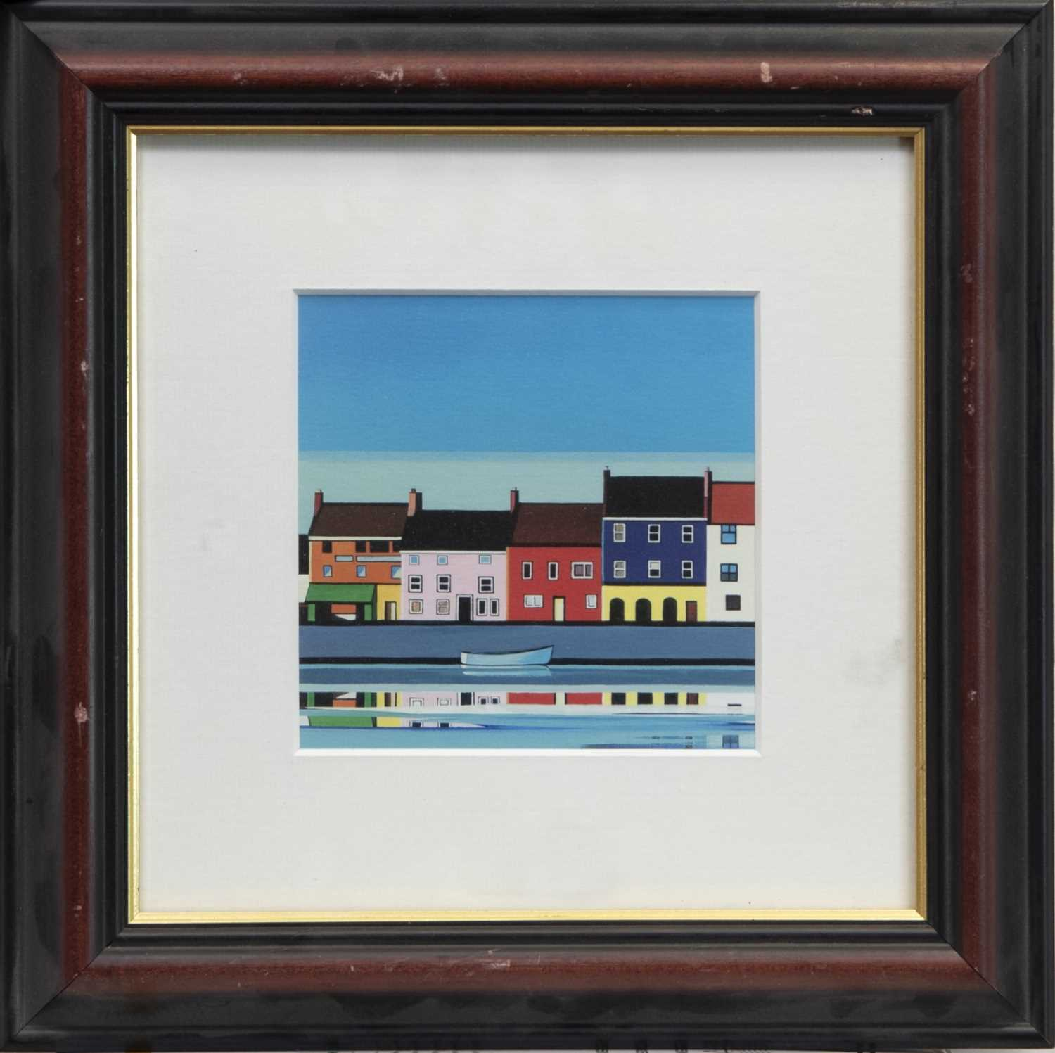 Lot 88 - RELFECTIONS, A FRAMED PRINT