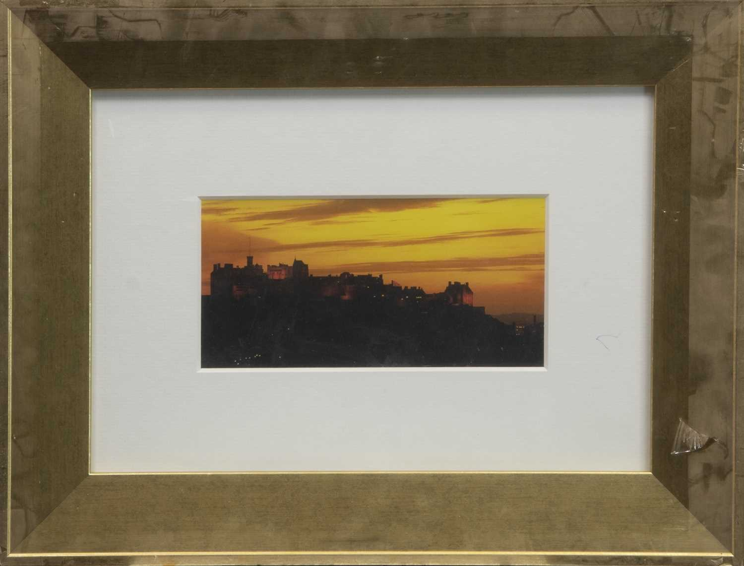 Lot 148 - SKYLINE, A FRAMED PRINT