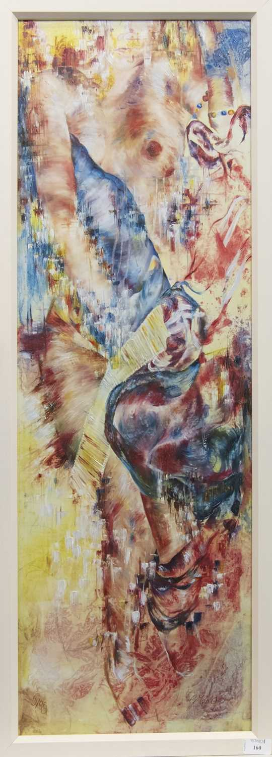 Lot 160 - RAPTURE 1, A GICLEE BY G MARLOW (?)