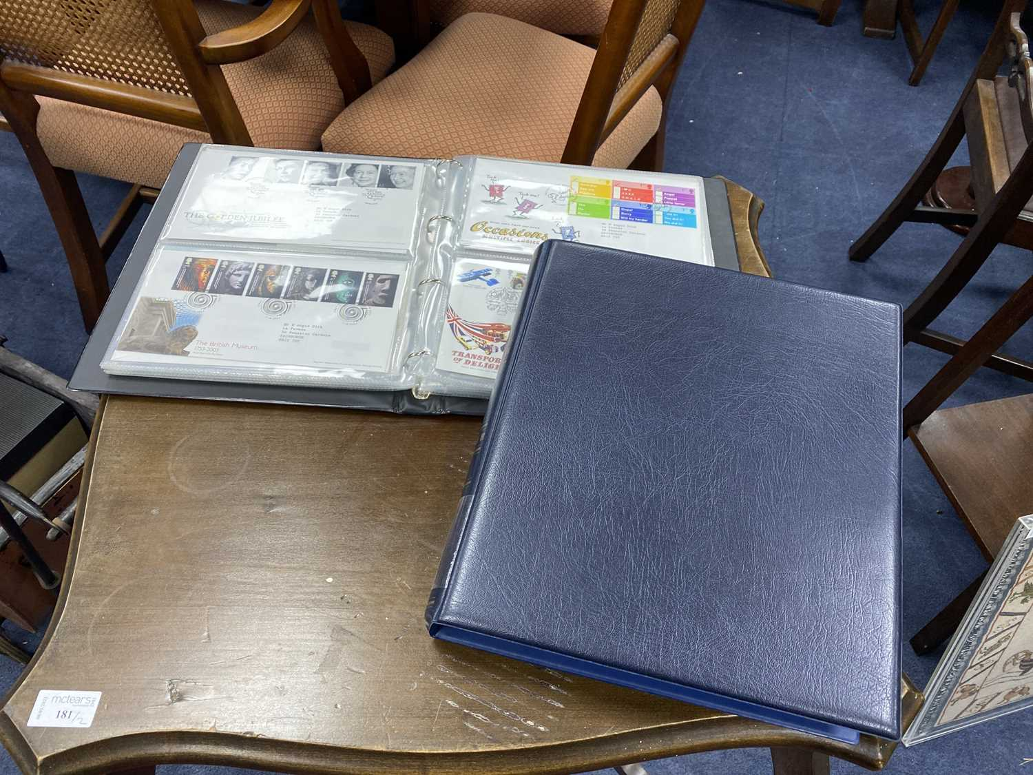 Lot 12 - A LOT OF EIGHT ALBUMS OF FIRST DAY COVERS