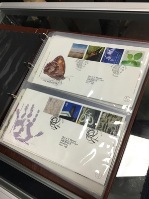 Lot 13 - A LOT OF NINE ALBUMS OF FIRST DAY COVERS