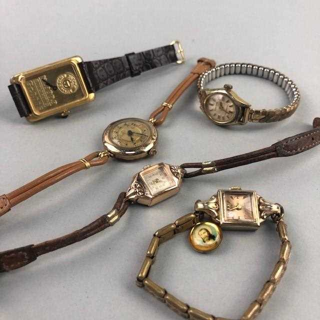 Lot 23 - A LOT OF GENT'S AND LADY'S WRIST WATCHES