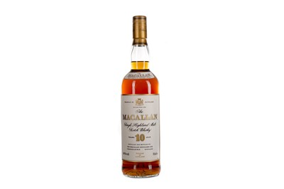 Lot 107 - MACALLAN 10 YEARS OLD