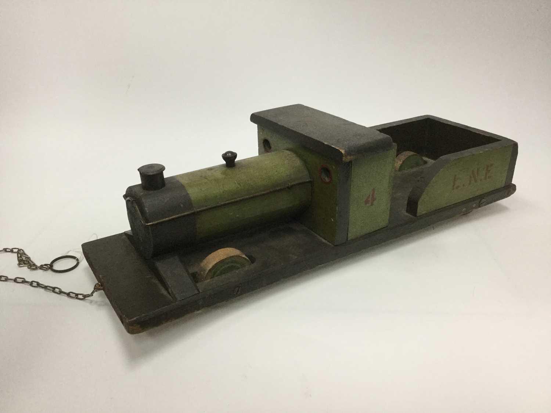 Lot 1690 - A HANDMADE MODEL OF STEAM ENGINE
