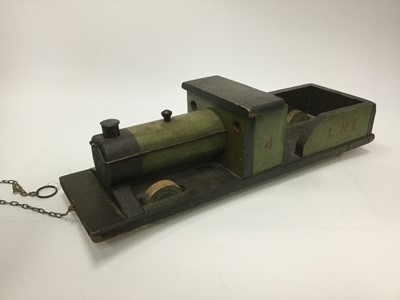 Lot 1690 - A HANDMADE MODEL OF STEAM ENGINE