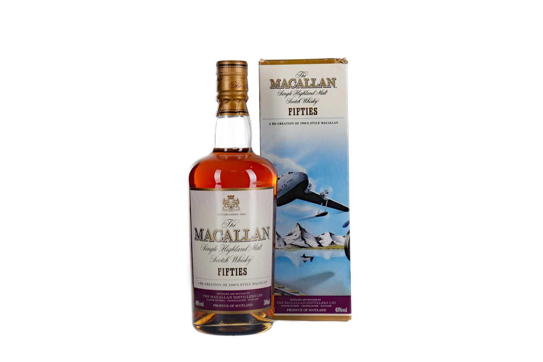 Lot 114 - MACALLAN FIFTIES