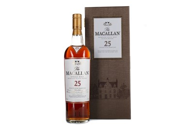 Lot 121 - MACALLAN 25 YEARS OLD