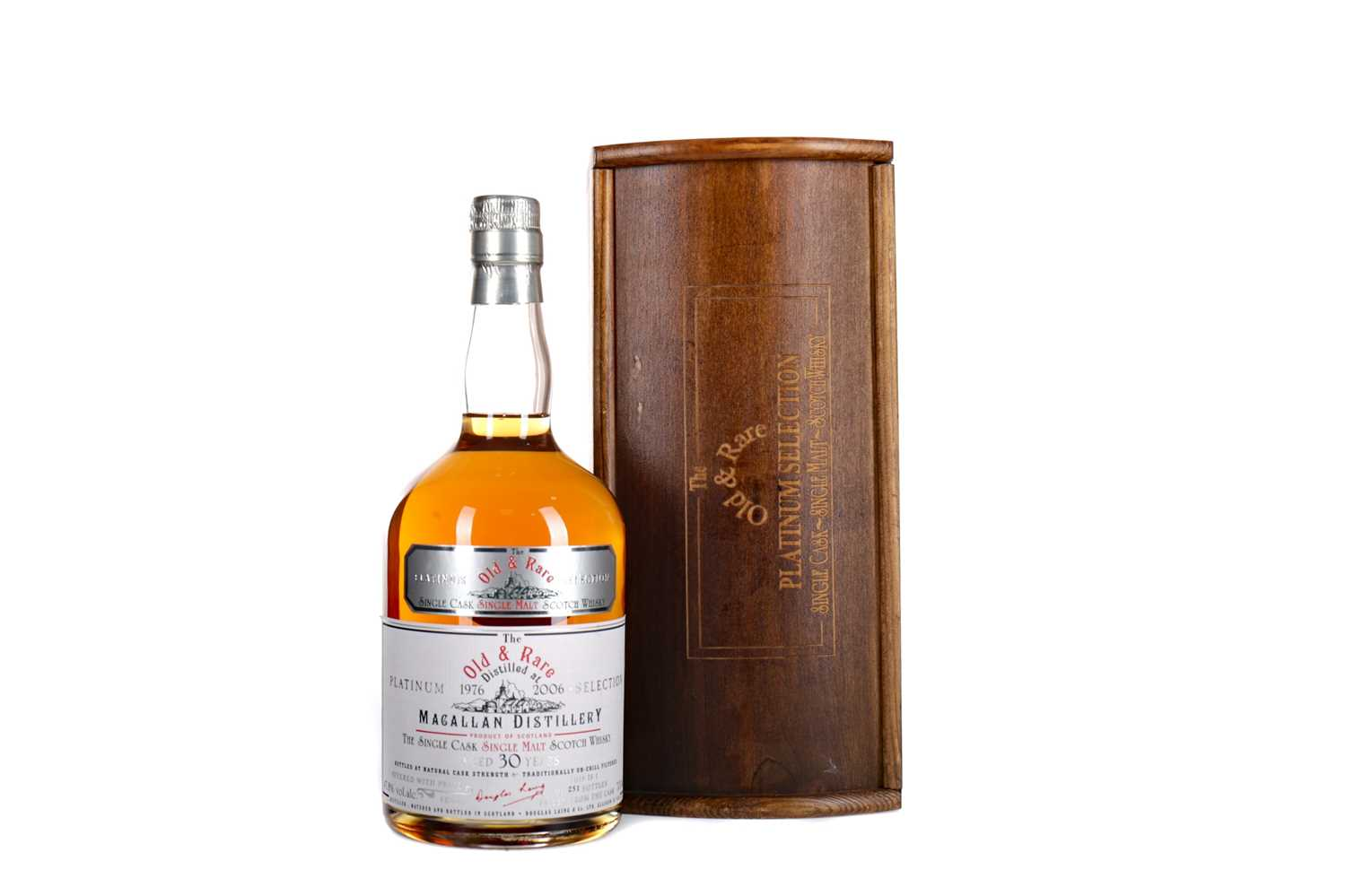 Lot 123 - MACALLAN 1976 OLD & RARE AGED 30 YEARS