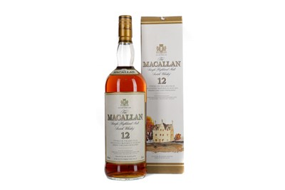 Lot 125 - MACALLAN 12 YEARS OLD - ONE LITRE