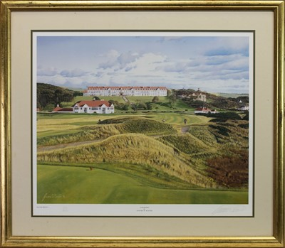Lot 425 - TURNBERRY, A PRINT BY GRAEME BAXTER