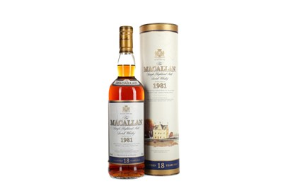 Lot 131 - MACALLAN 1981 18 YEARS OLD