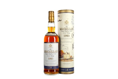 Lot 132 - MACALLAN 1983 18 YEARS OLD