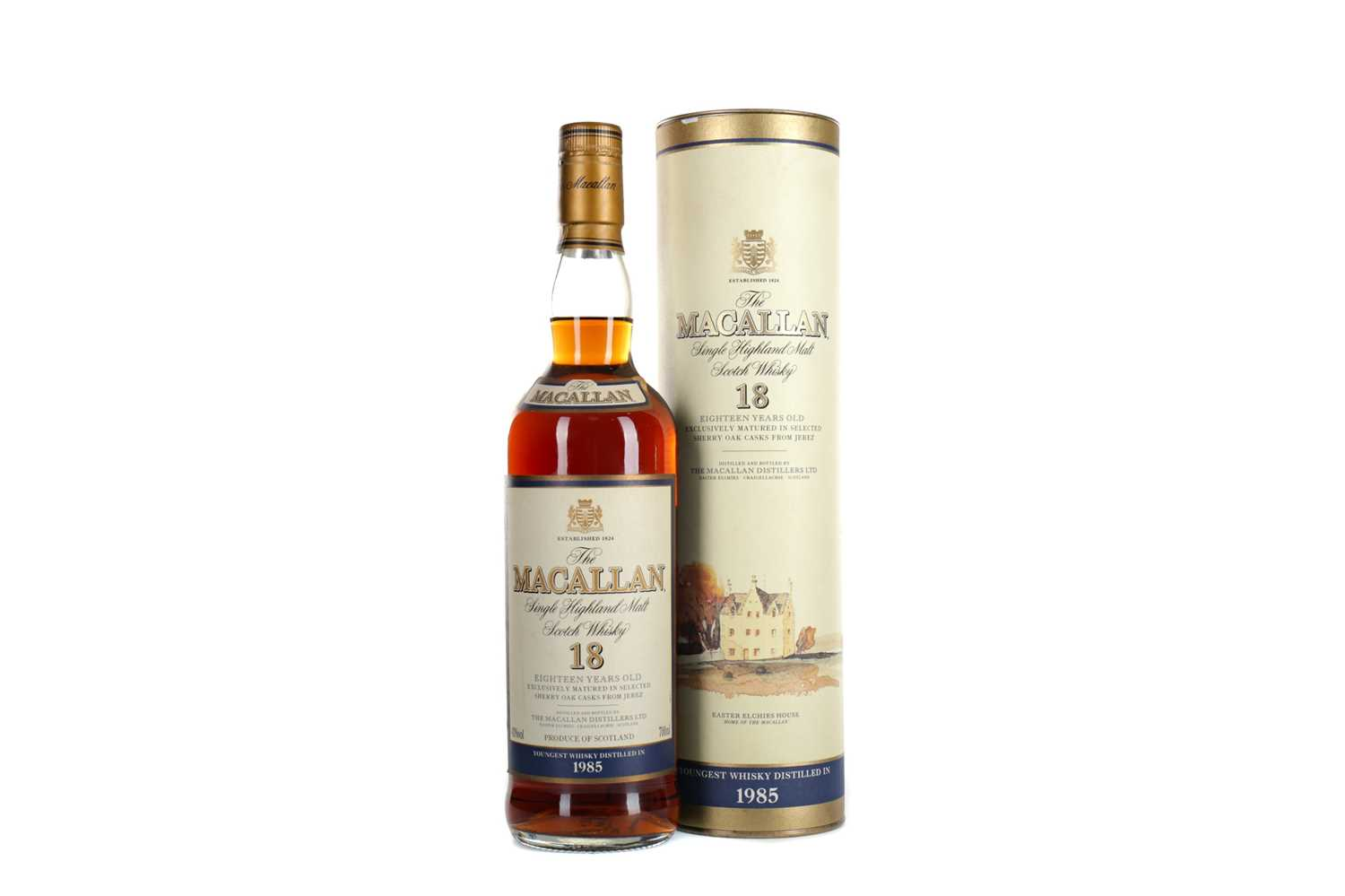 Lot 133 - MACALLAN 1985 18 YEARS OLD