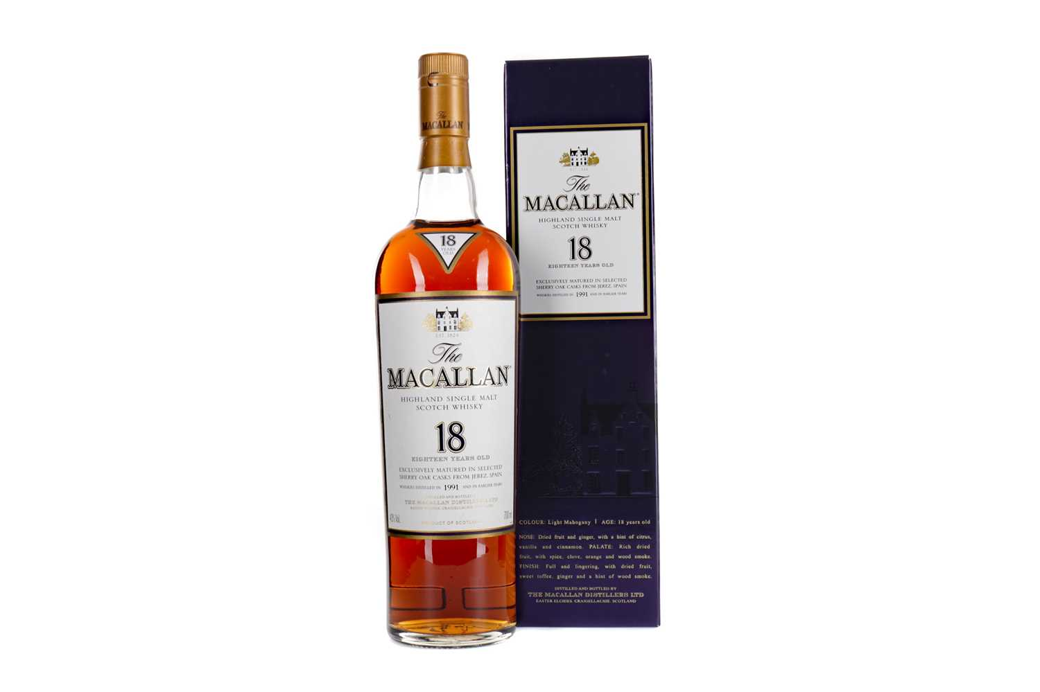 Lot 135 - MACALLAN 1991 18 YEARS OLD
